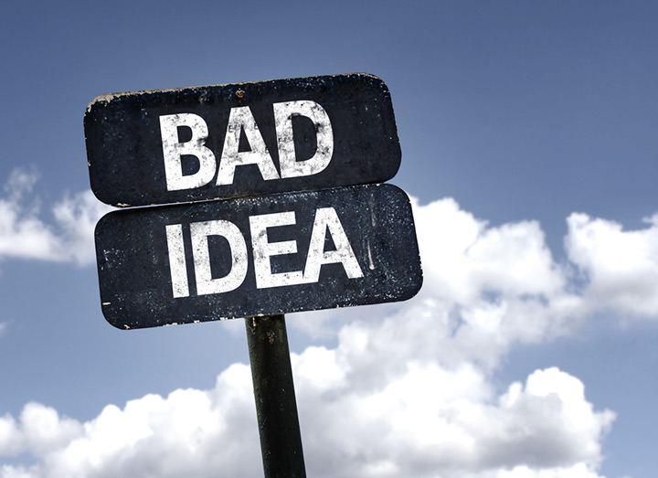 плохие идеи для бизнеса