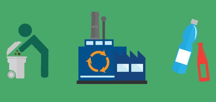 Мини-завод по переработке пластика
