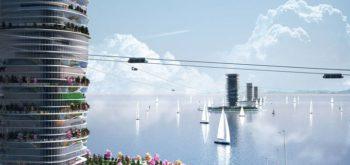 Инвестиции в разработку струнного транспорта Sky Way