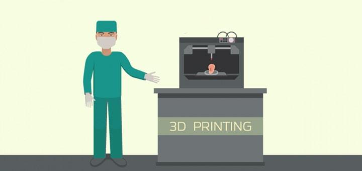 Прототипирование, макетирование и протезирование с помощью 3д печати.