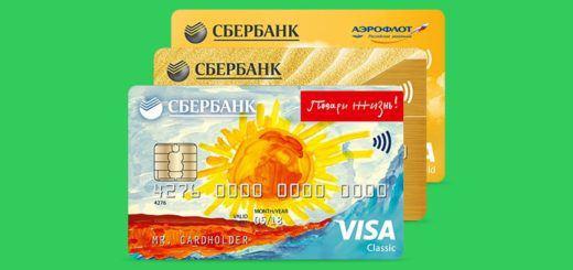 Виды кредитных карт Сбербанка. Способы получения заемных средств