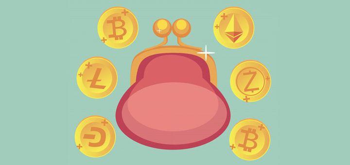 Создаем криптовалютные кошельки для покупаемых коинов