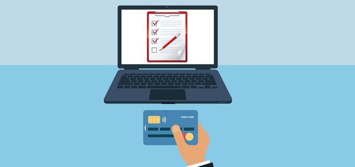 Порядок оформления кредитной карты через интернет с последующим получением по почте