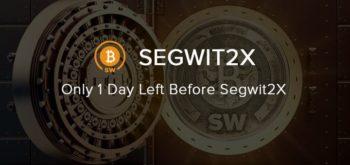 Остался один день до форка Bitcoin — Segwit2X