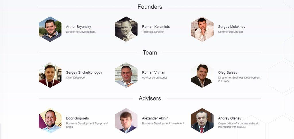 Команда разработчиков ICO flashtoken