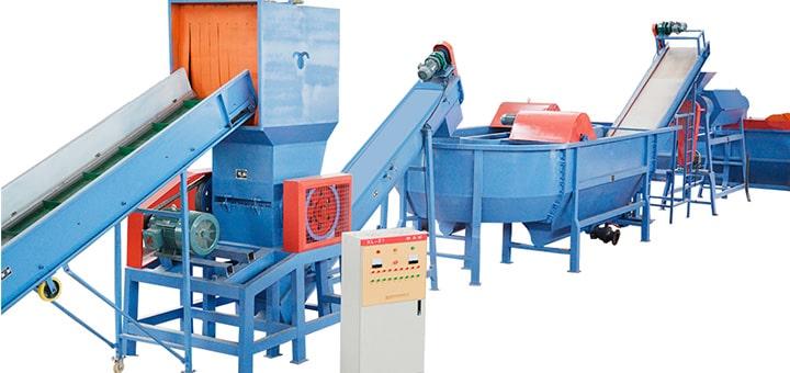 Мини завод по переработке пластика