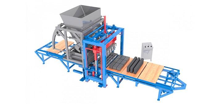 Оборудование для производства тротуарной плитки