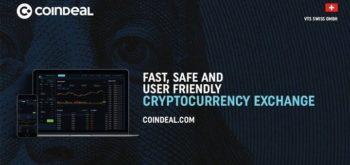 CoinDeal - динамично развивающаяся платформа для обмена криптовалют