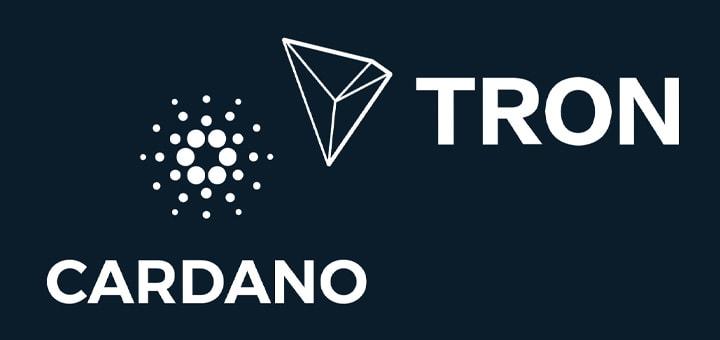 Партнерство Cardano (ADA) и TRON (TRX)