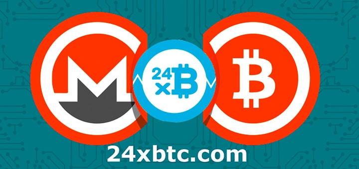 площадка для мгновенной продажи криптовалют 24xbtc.com