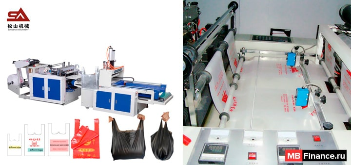 Бизнес по производству полиэтиленовых пакетов