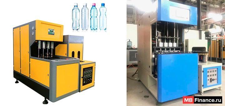 Станок для производства пластиковых бутылок