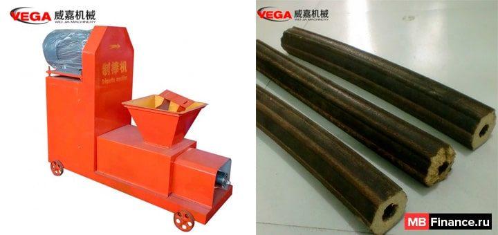 Станки для производства топливных брикетов