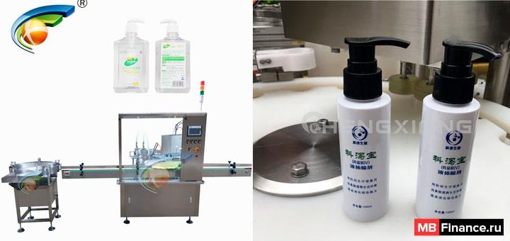 Производство антисептических гелей