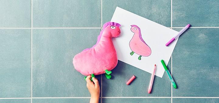 Изготовление игрушек по рисункам детей