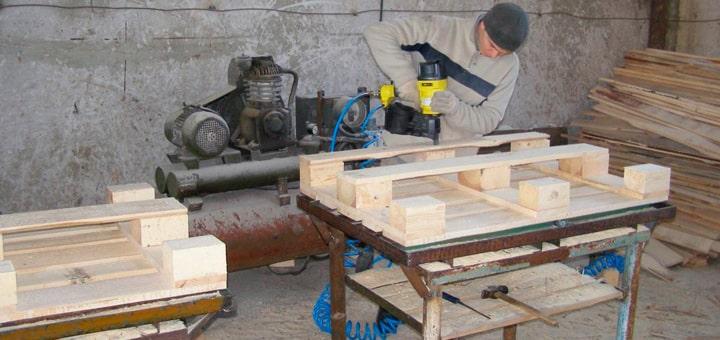 Производство поддонов в гараже