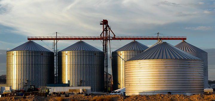 Элеватор для хранения зерна