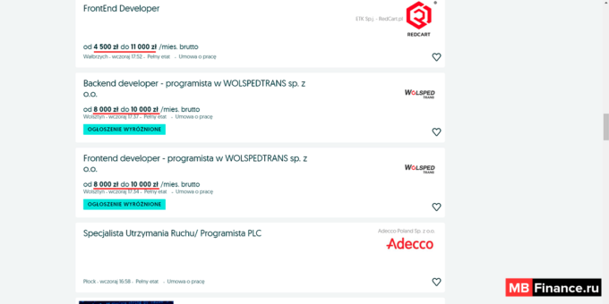 Популярная доска объявлений OLX.pl
