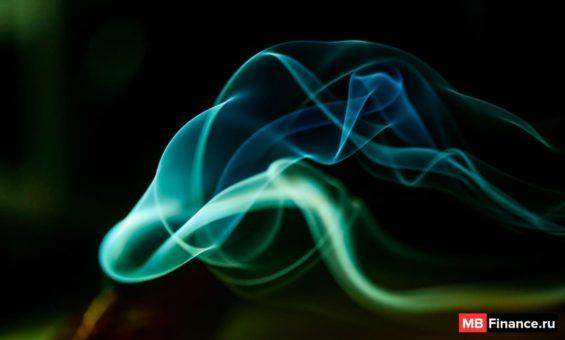 Дым, как пример работы анимационного дизайна