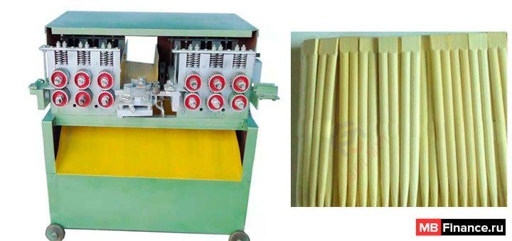 Производство китайских палочек